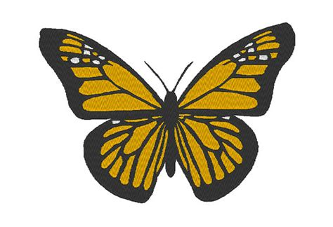 monarch design monarch butterfly machine embroidery design