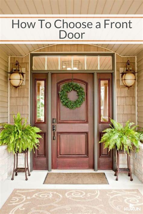 simple ways  choosing  front door   home