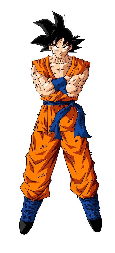 San Goku goku by bardocksonic on deviantart