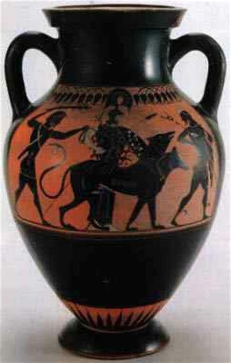 vasi greci a figure nere difetti