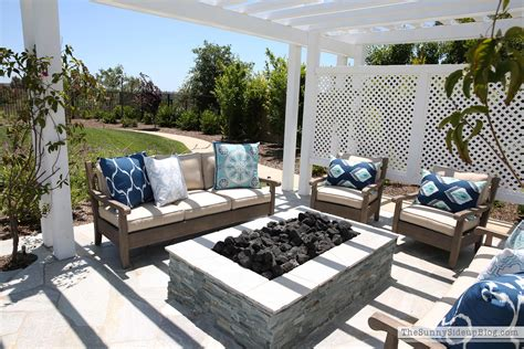 restoration hardware pit outdoor pergola and pit the side up