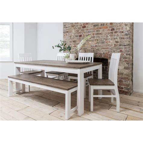 hever dining table with 5 chairs and bench noa nani