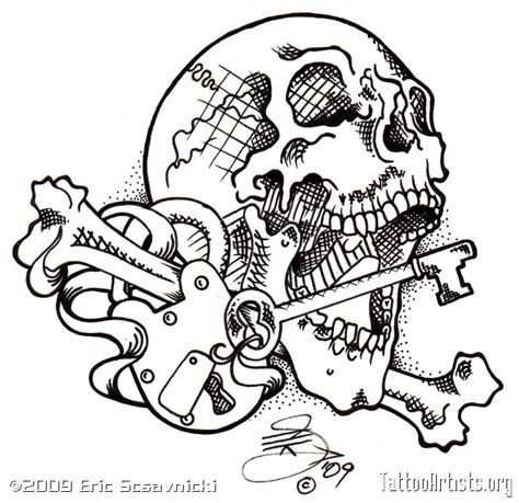 best 25 key tattoo designs collection of 25 line lock n key design