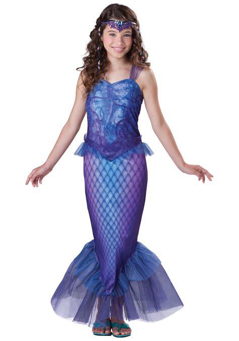 mermaid costume tween mysterious mermaid costume
