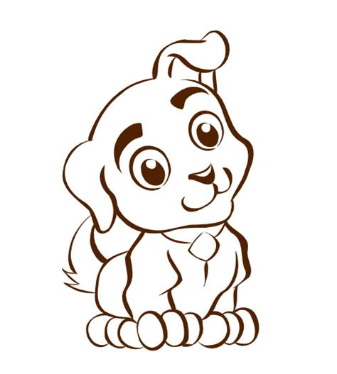 puppy vector vector puppy clipart best