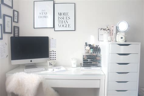 room space room tour blogging space dressing table oh so amelia
