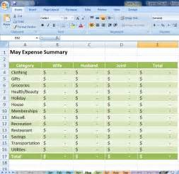expense tracking spreadsheet template expense tracking excel spreadsheet 1000 images about