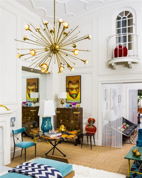 decor living sputnik jonathan adler and simon doonan show their new york city apartment in lonny magazine photos