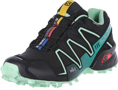salomon speedcross  gtx  trail running shoes black