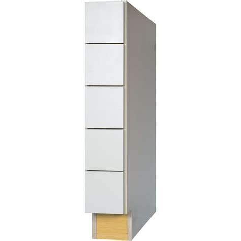 5 drawer kitchen cabinet everyday cabinets 6 inch white shaker base spice 5 drawer