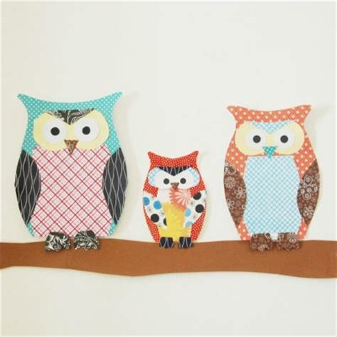 Crafts To Do With Scrapbook Paper - paper owl family family crafts