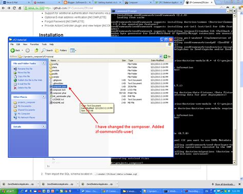 zf2 tutorial software engineering php zf2 zfcuser installation how