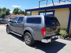 Nissan Frontier Cap 2016 Frontier Are Cx Series Kad Gray Suburban Toppers