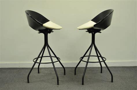 century furniture bar stools circa 1950s pair of mid century italian style modern