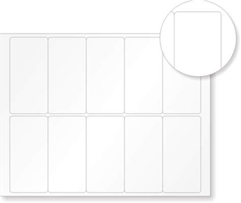 printable vinyl labels blank vinyl labels for barcodes econoguard laser