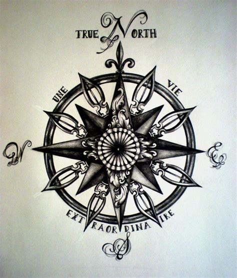 compass tattoo with quote compass i really like the quote but i m not