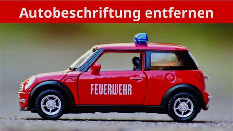 Aufkleber Auf Auto Entfernen by Autobeschriftung Aufkleber Beschriftung Vom Auto