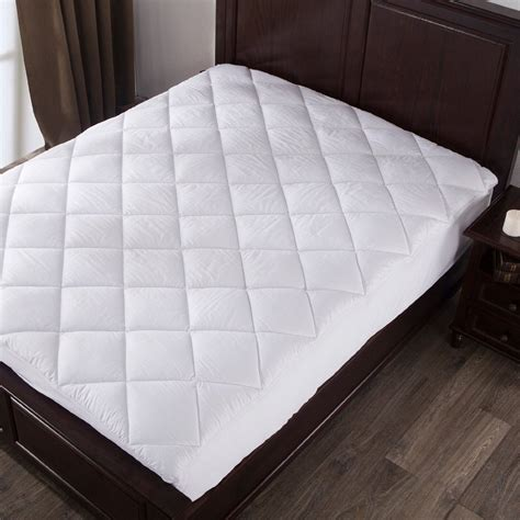 twin bed pillow top mattress pad mattress pad twin size 100 cotton topper pillow top bed