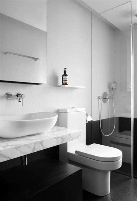 Banheiro Preto E Branco: 65 Fotos Atuais De Decoração E
