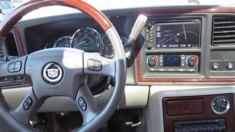 how to fix cars 2005 cadillac escalade interior 2005 cadillac escalade white pearl stock a3037c interior youtube