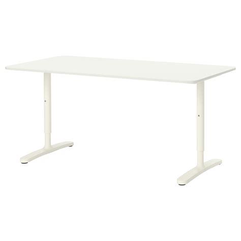 Bekant Desk by Bekant Desk White 160x80 Cm Ikea