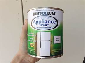 appliance paint colors how to paint a refrigerator epoxy refrigerator and rust