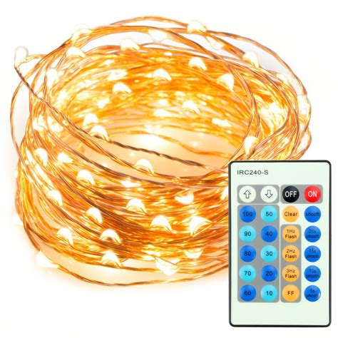 led string lights for bedroom 33ft 100 led string lights dimmable with remote