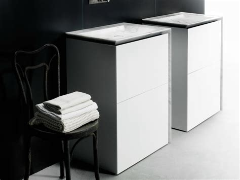 corian vanity unit single corian 174 vanity unit with drawers b15 by boffi