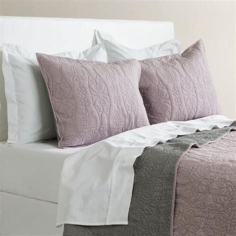 lavender bedding lavender and gray bedding collection world market