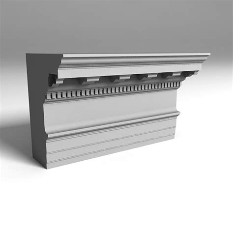 classic cornice classic cornice 3dlenta 3d models library