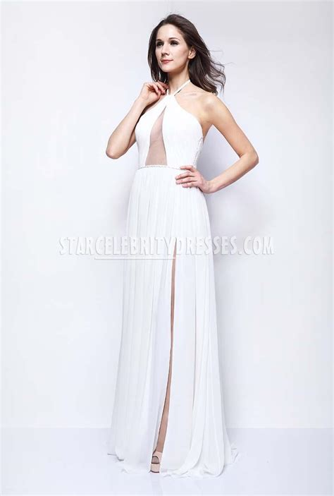 taylor swift prom dress taylor swift white chiffon halter prom dress fragrance