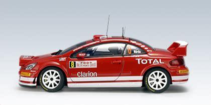 Peugeot 307 Wrc 8 Rally Sweden 2005 143 Ixo autoart 2005 peugeot 307 wrc m martin m park 8 60555