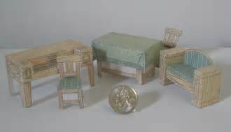 cardboard dolls house furniture templates paper model dollhouse