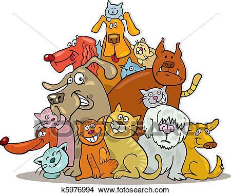 clipart gatti clipart gatti e cani gruppo k5976994 cerca clipart