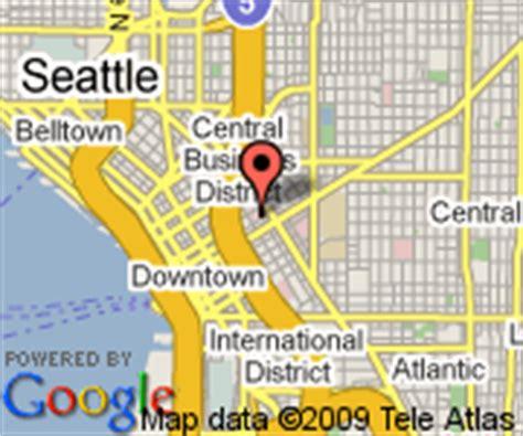 seattle va map hotels near of washington seattle 2015