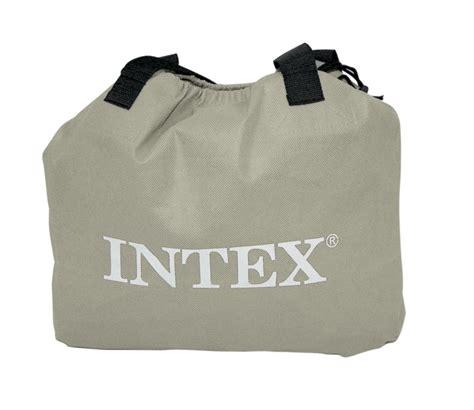 intex queen essential rest fiber tech air bed mattress
