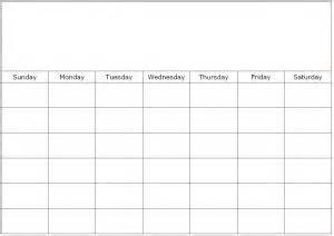 large monthly calendar template large free calendar templates