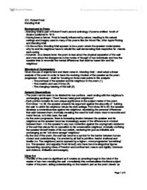 Mending Wall Theme Essay by College Essays College Application Essays Mending Wall Analysis Essay