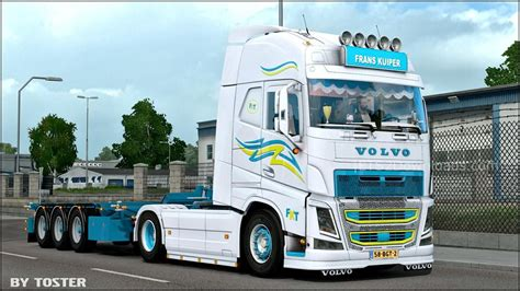 volvo trailer truck trailer volvo fh frans kuiper v1 0 ets 2 mods