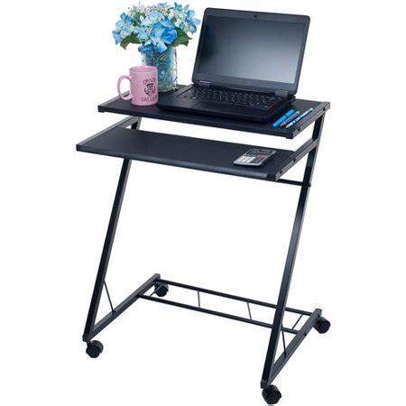 mobile rolling cart compact computer desk walmartcom
