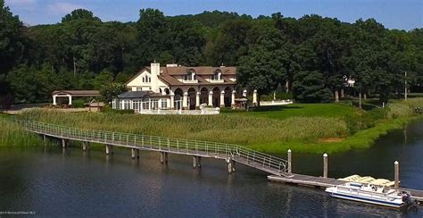 enchanting waterfront mansion in middletown nj homes of