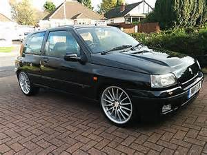 1996 renault clio 1 8 16v black 5 gt turbo williams clio