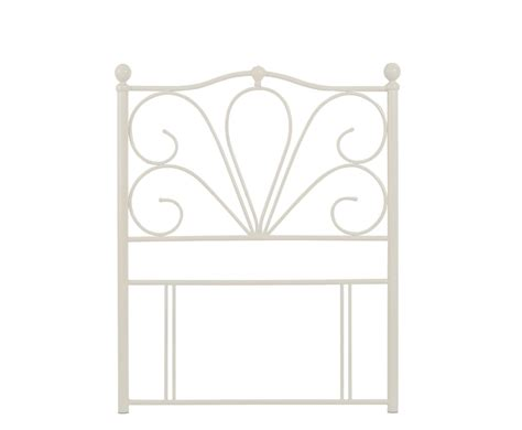 white metal headboard double chicago off white metal headboard single double king size