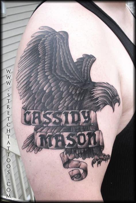 black and grey eagle tattoo black and gray eagle tattoo tattoos