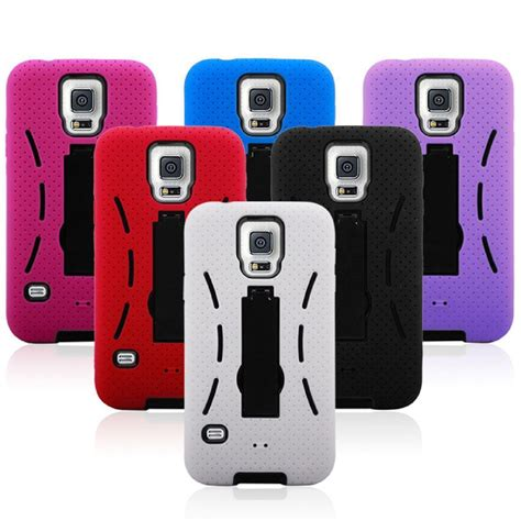 Robot Rugged Armor Samsung S5 I9600 Cover Rub Limited 2 Samsung Galaxy S5 I9600 Rugged Armor Dual Layer Protective