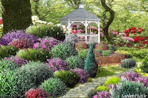 alanna s shrub garden gardenpuzzle online garden planning tool