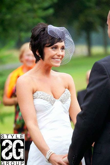 Wedding Styles for Short Hair   Short Hairstyles 2018