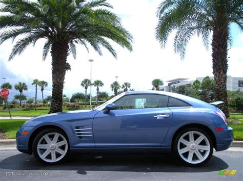 2005 aero blue pearlcoat chrysler crossfire limited coupe 18384593 gtcarlot car color