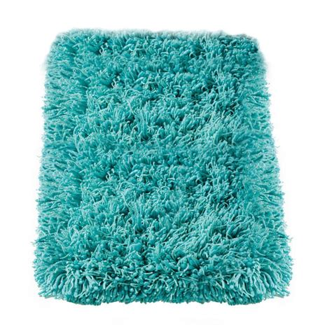 Shaggy Turquoise Rug by Home Decorators Collection Ultimate Shag Turquoise 8 Ft X