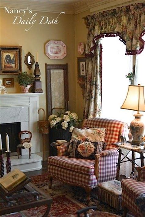 country cottage living nancy s daily dish cottage living room before partly after still a work in